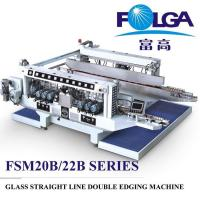 China High Speed Glass Double Edging Machine Automatic Efficient 380V/50HZ FSM2016BL on sale