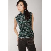 China Fairy Calabash Silk Brocade Blouse on sale