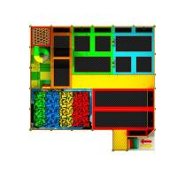 Climbing wall outdoor indoor playground for sale free jump Manufactures