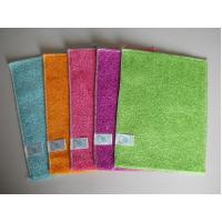Buy cheap Anti-grease bamboo fiber cleaning dish cloth from wholesalers