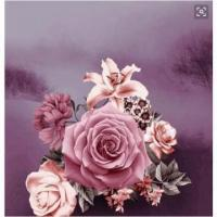 China 3d Print Bedding Sheet Rose 230cm Width Clothing Fabric on sale