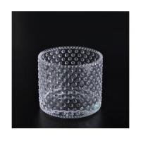 clear glass candle container Manufactures