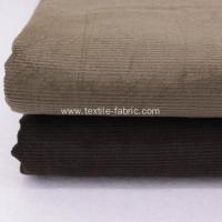8 Wale Black Corduroy Upholstery Fabric Manufactures