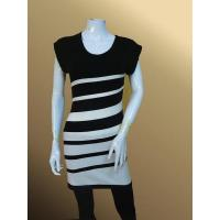 China lh33 Striped Slimfit Tunic Lady Long Pullover wholesale