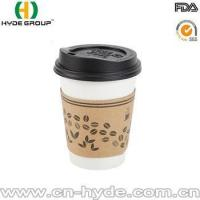 Food Grade Paper Coffee Cup Printing with Lid Manufactures