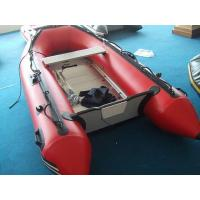 China 0.9mm PVC material with Durable material inflatable jet ski boat on sale