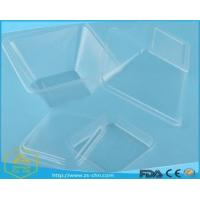 China High quality safety clear PET disposable plastic salad bowl on sale