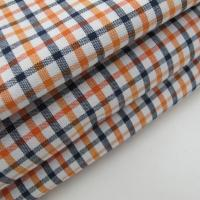 Cotton Oxford Check Spandex Fabric Manufactures