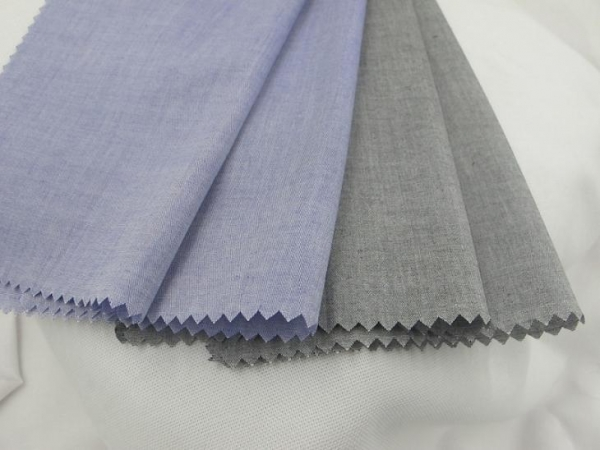 Quality chambray fabric for sale Cotton Yarn Dyed Spandex Chambray Fabric for sale