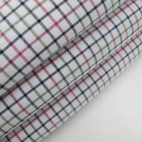 Cotton Spandex Oxford Yarn Dyed Plaid Fabric Manufactures