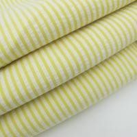 seersucker fabric for sale Yellow Stripe Yarn Dyed Spandex Seersucker Fabric Manufactures