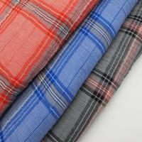 Yarn Dyed Check Plisse Fabric Manufactures