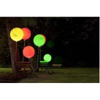 Colorful Inflatable standing balloon / Inflatable LED outdoor decoratior ball for fun for sale