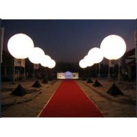 Inflatable standing balloon Inflatable LED lighting decoration Ball for advertising party events for sale