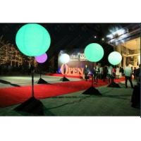 Amazing standing inflatable balloon LED lights changing color for events decoration for sale