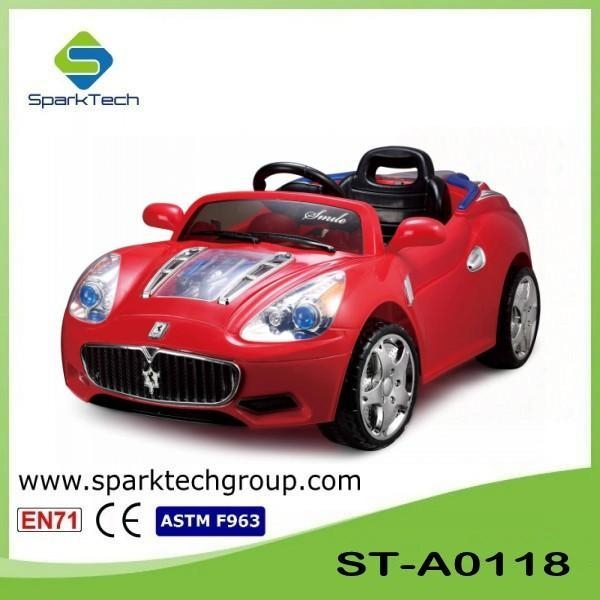 hot sale 2 4g remote control car kids electric car for 8