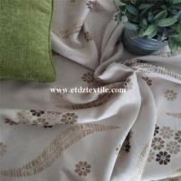 Linen Small Flower Dimout Fabric