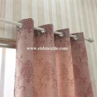 China 100% Polyester Jacquard Curtain Fabric on sale