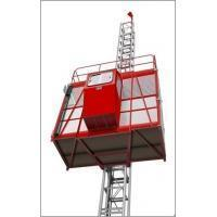 Buy cheap SS120 Single Cage steel rope driven Building Hoist from wholesalers