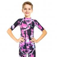Buy cheap C1607 Camouflage Short Lycra Diving Wetsuit Boy from wholesalers