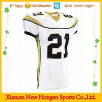Embroidery,tackle twill American football jerseys\uniforms\wear Manufactures