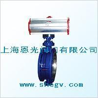 Buy cheap D643H pneumatic hard sealed butterfly's valve from wholesalers