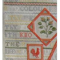 China Potluck ~ Mystery Sampler from Amy Mitten/Fibers to Dye For ~ Traditional Stitches Exclusive on sale