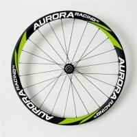 Quality 23mm Wide 38mm Deep Carbon Fiber Bike Wheels with U-Shape Design Maximize Cycling Experience for sale