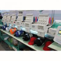 China 6 heads computerized embroidery machine for cap & t-shirt on sale