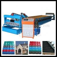 China Roofing Tile Roll Forming Making Machine on sale
