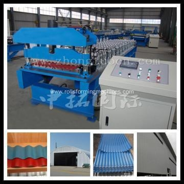Metal Corrugated Steel Roofing Sheets Machine For Sale Of