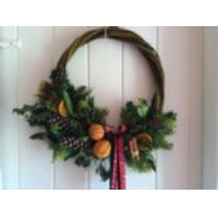 Art & Craft Days - Christmas Wreaths & Swags  Willow - Essex Manufactures