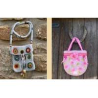Make a beautiful felt bag in The Forest Of Dean - Gloucestershire Manufactures