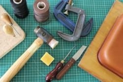 China Leatherwork Weekend Taster Course - Pembrokeshire