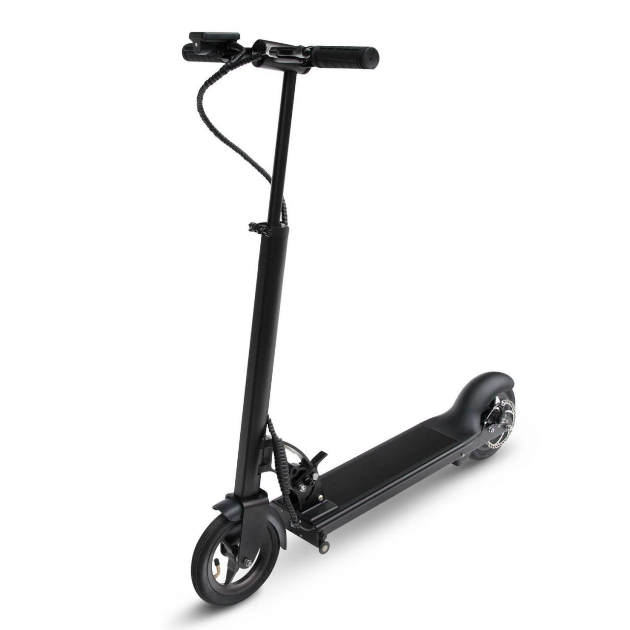 China Black collapsible Scooter on sale
