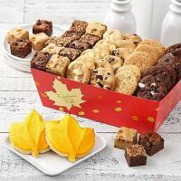 China Gourmet Gifts & Sweets Mrs. Fields Autumn Bites Basket on sale