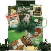 China Christmas Decor Golfing Around: Gourmet Golf Gift Basket on sale