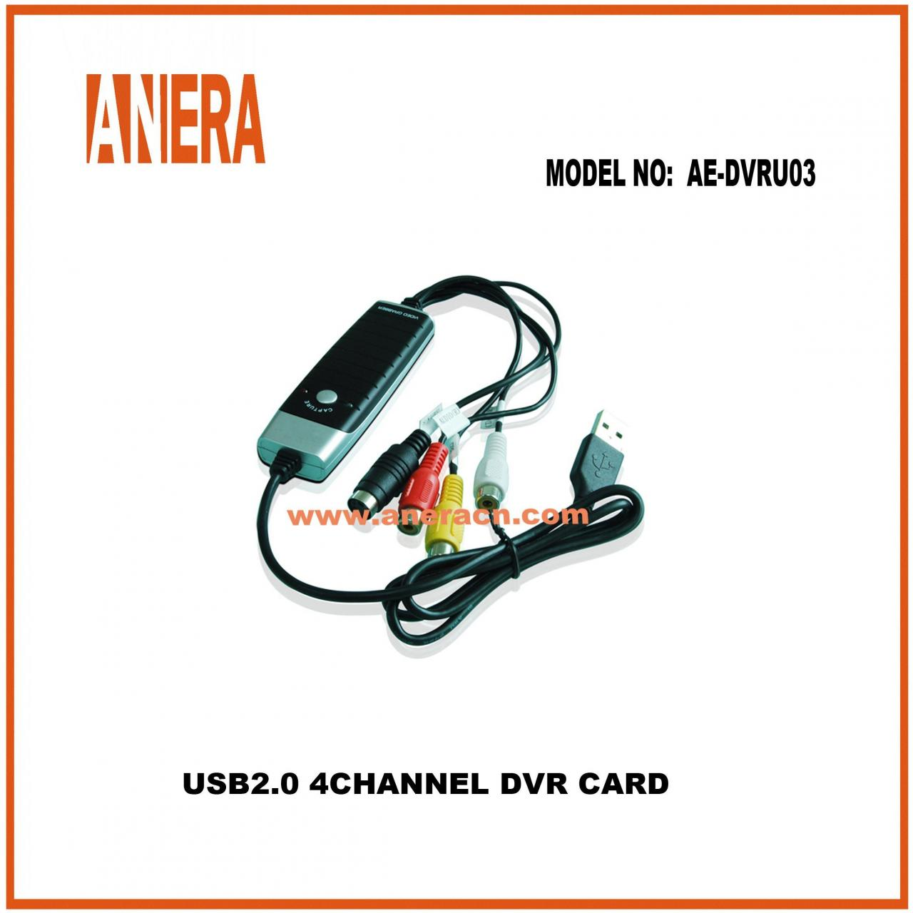 Type C CABLES USB 2.0 Video Grabber with Audio AE-DVRU03 Manufactures