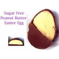 Sugar Free Milk Chocolate Egg - Peanut Butter Filled (small) 1 oz Manufactures