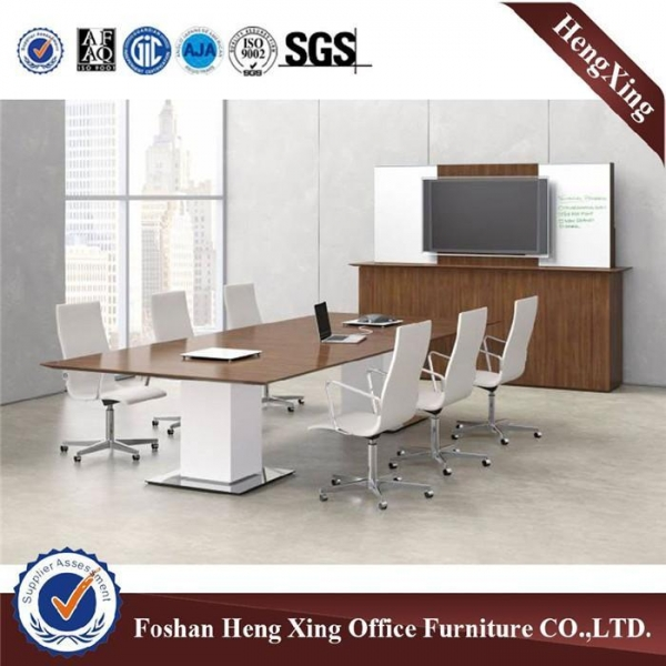 Quality Chinese antique MDF office glass reception desk front counter