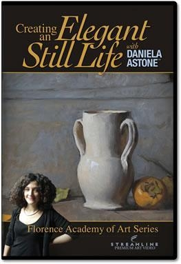 Quality OIL PAINTING DVDs DA-1 Daniela Astone: Creating an Elegant Still Life for sale