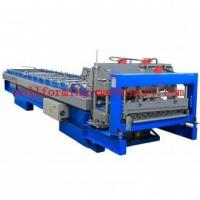 Xiamen Machine Glazed Tile Roll Forming Machine for profile YX40-810 Manufactures