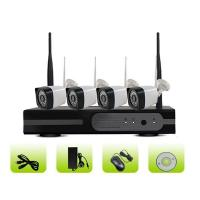 SK04W-10PP Outdoor Waterproof IP66 Night Vision Wireless 4ch Bullet Camera Security System Manufactures
