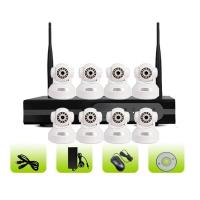 China SK08W-10RB Smart Home Surveillance Camera 8ch 1080P WiFi NVR Kit on sale