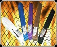 Buy cheap Gameness Colored belts for Brazilian Jiu-jitsu (bjj) from wholesalers