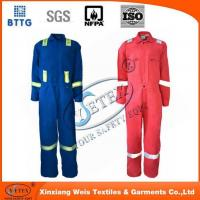 Safety clothing YSETEX EN11612 Oeko-Tex material fire retardant coverall for oil and gas industry Manufactures