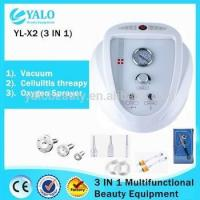 China YL-X2 (3 In1) Multifuntional Oxygen Spray Vacuum Slimming Black-head Removal Device on sale