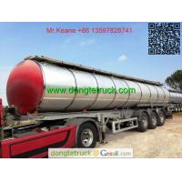 3 axles pitch tanker semi trailer Manufactures
