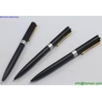 China advertising metal stationery pen ballpoint pen in various color, promotional logo pen on sale
