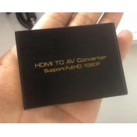 HDMI TO AV Converter Support Full HD 1080P Mini Metal Box Excellent Heat Exchange Manufactures